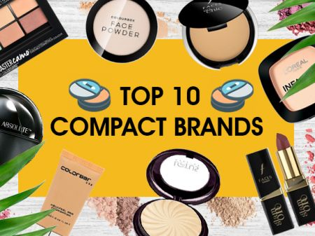 10 Best Face Compact Brands in India for Instant Beauty Fixes