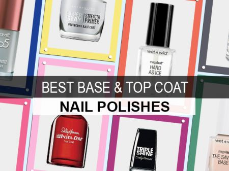 10 Best Base Coat & Top Coat Nail Polishes in India