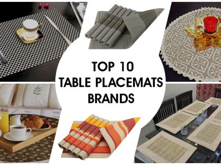 10 Best Placemats Brands in India to Dress a Dining Table