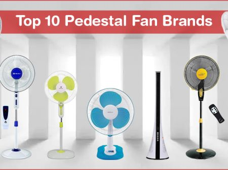 10 Best Pedestal Fan Brands in India to Buy for Efficient Cooling