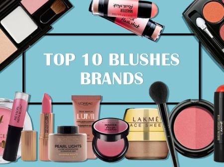 10 Best Blushes Brands in India To Get Sculpted Cheeks