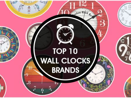 10 Best Wall Clocks Brands to Buy Online in India
