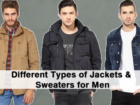 Different Types of Winter Jackets/Sweaters for Men