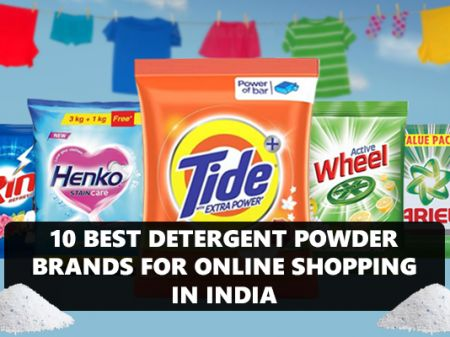 10 Best Detergent Powder Brands for Online Shopping in India