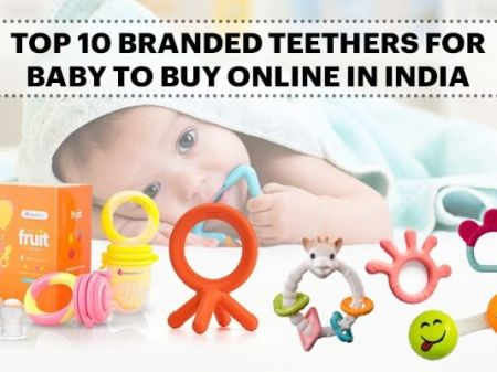10 Best Baby Teether Toys Brands for Online Shopping in India