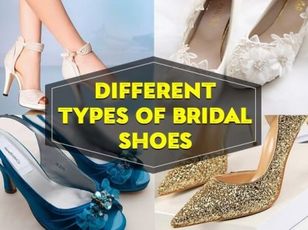 Types of Wedding Shoes Every Bride Should Know