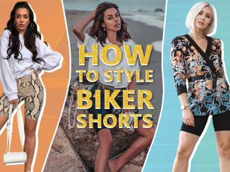 How to Style Biker Shorts Outfit for Women
