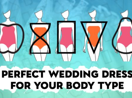 Perfect Wedding Dress for your Body Shape