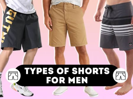 Pattern Types of Men's Shorts for Summer