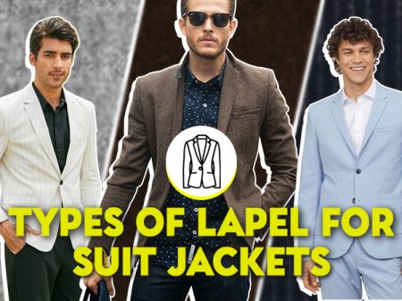 23 Types of Lapel Designs for Suit Jackets & Blazers