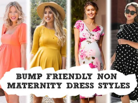 8 Bump Friendly Non-Maternity Dresses Styles to Buy for Pregnant Woman