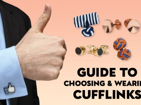 Men's Cufflinks Guide: Types, Material, Buying and Matching Tips