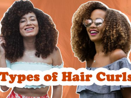Different Types of Hair Curls