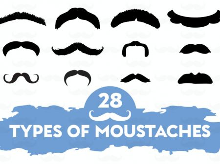 28 Types of Moustaches