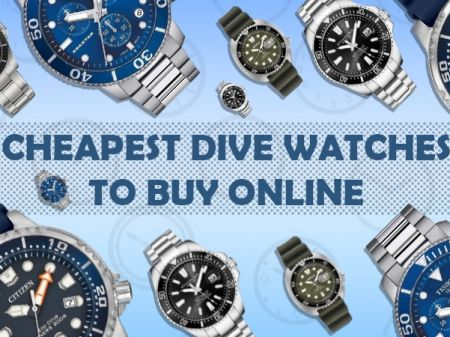 Cheapest Dive Watches to Buy Online