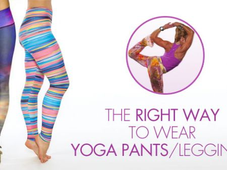 After reading this story you won't use yoga leggings the same way again