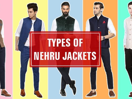 15 Types of Nehru Jackets Every Man Should Know about