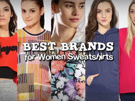 20 Best Brands to Buy Sweatshirts for Women