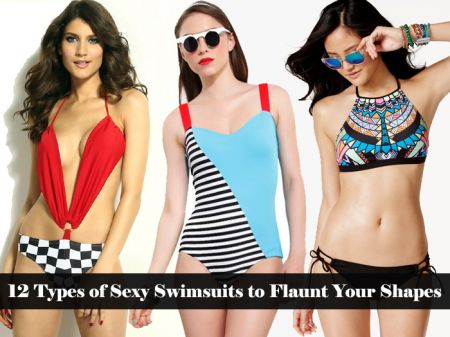 12 Types of Sexy Swimsuits to Flaunt your shapes