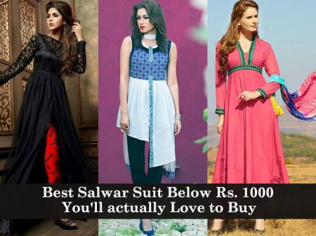 Best Salwar Suit Below Rs. 1000 you will actually love to buy