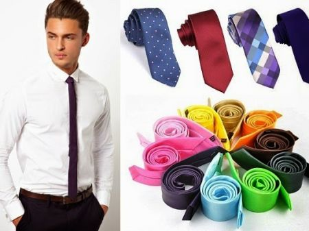 Rules of Wearing Skinny Ties in Perfect Way for Men