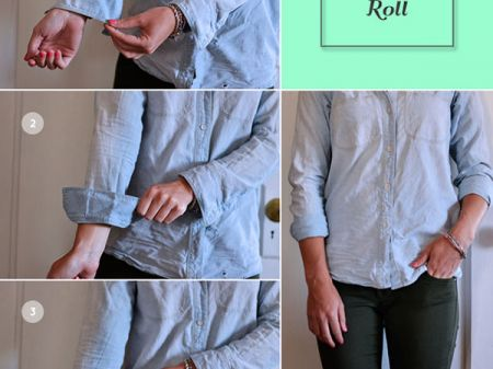An Idiot's Guide to Tuck, Roll & Cuff Shirts and Jeans Easily