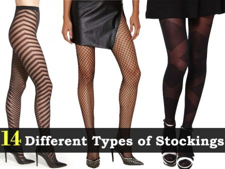 14 Different Types of Stockings your Legs deserve!