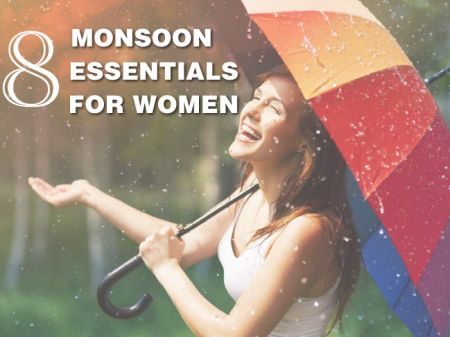 8 Monsoon Essentials That Every Woman Should Buy