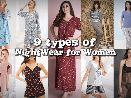9 Types of Nightwear Every Woman Should Try