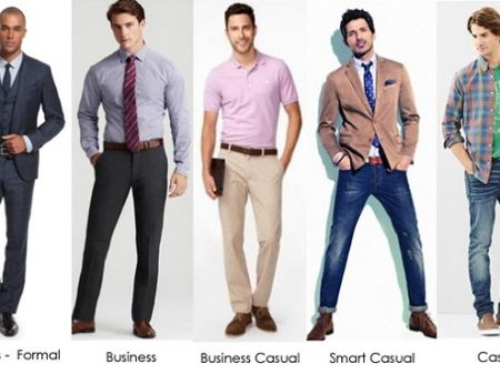 Going Casual Way in Business: Dress code for Men