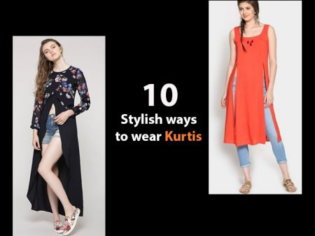 10 Stylish ways to wear Kurtis for Stunning Look